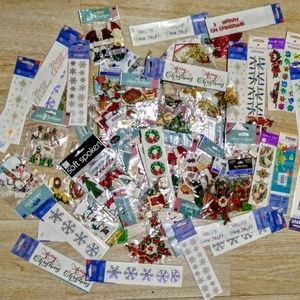 Lot 90 Christmas Stickers Jolees Boutique & More